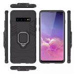 oneo ARMOUR Grip Samsung Galaxy S10 Protective Case - Black