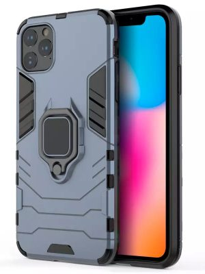 oneo ARMOUR Grip iPhone 11 Max Protective Case - Navy Blue