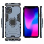 oneo ARMOUR Grip iPhone 11 Protective Case - Navy Blue