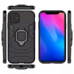 oneo ARMOUR Grip iPhone 11R Protective Case - Black